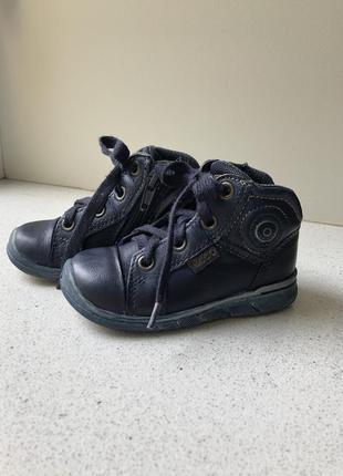 Супер качественные ботинки ecco, 21 размер
