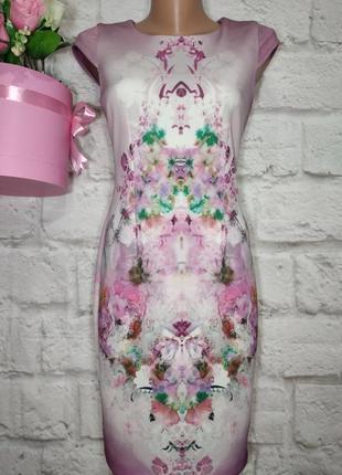 Платье миди по фигуре р с-м