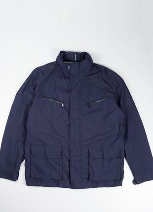Синяя куртка ветровка strellson
