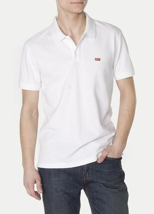 Поло/футболка levi's housemark polo