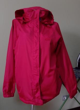 Куртка ветровка винного цвета peter storm 14 размер