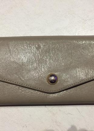 Кожаный кошелёк mulberry
