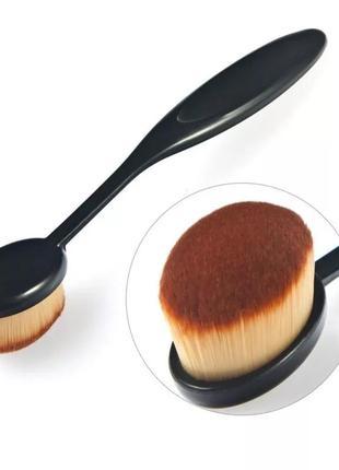 Кисть для макияжа  овальная форма conceler тональная кисть для румян для женщин