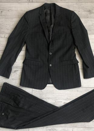 Костюм d&g striped brad suit