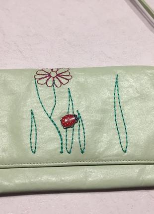 Кожаный кошелёк, портмоне, сумочка jane shilton