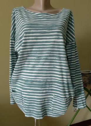 Трикотажная кофта блуза mantaray
