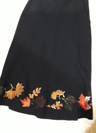 Оригинальная осенняя юбочка ручной работы