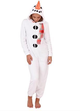 Тёплая флисовая красивая пижама комбинезон для дома missguided asos