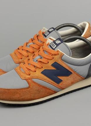 Фирменные замшевые кроссовки new balance