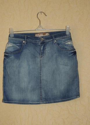 Стильная джинсовая юбка motor jeans