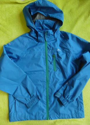 Куртка курточка ветровка дождевик плащ спортивная кофта с капюшоном  9-10 лет