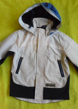 Курточка куртка ветровка с капюшоном 2-3 года