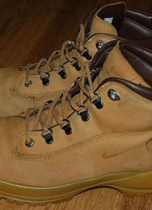 Кожаные ботинки 43 р nike