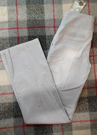 Летние джинсы с высоким поясом