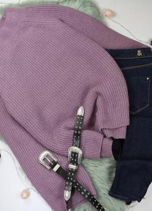 Красивый вязаный свитер с рукавами клеш в свободном стиле primark
