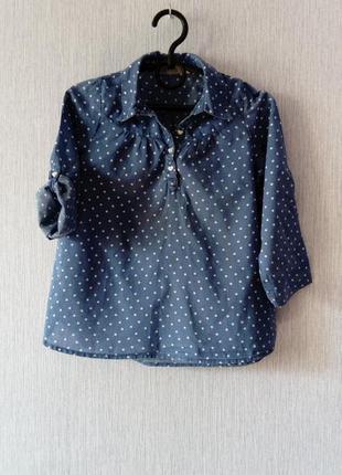 Рубашка h&m 3-4 года.