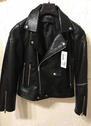 Шикарная косуха/ куртка из эко кожи