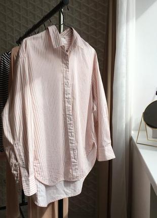 Полосатая рубашка от h&m