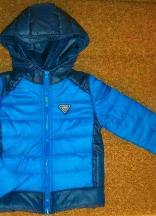 Новая курточка на мальчика размер 128