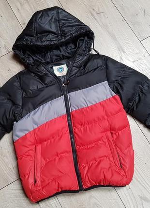 Зимова курточка 128см