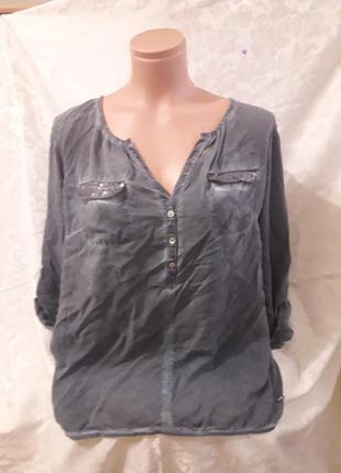 Рубашка под джинс от tom tailor