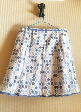 Хлопковая юбка на подкладке (германия 🇩🇪) #розвантажуюсь