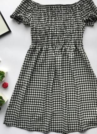 Платье, сарафан в клеточку zebra