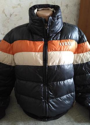Бомбовская куртка холодная осень