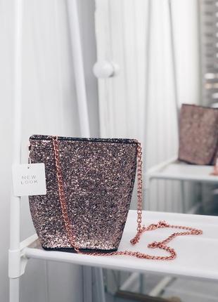 Новая сумка клатч на цепочке
