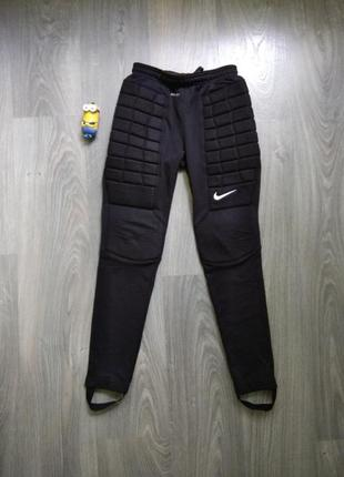 10-12л nike футбольные штаны джогеры треники