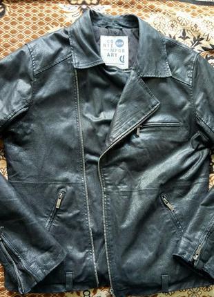 Кожаная куртка косуха !solid (дания)