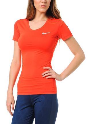 Женская футболка nike pro оригинал.