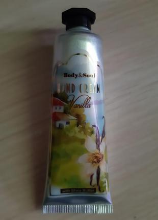 Крем для рук турция с ароматом ванили и маслом ши