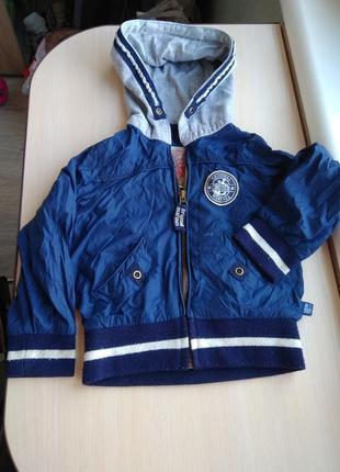 Осенняя весенняя куртка курточка на мальчика 2-3 года ветровка