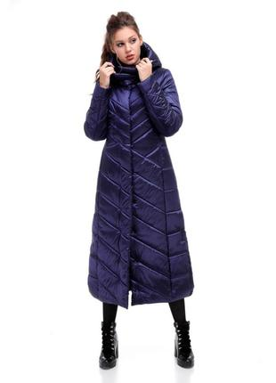 Красивое пальто пуховик