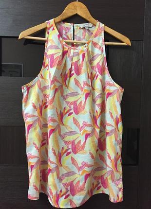 Блуза летняя peacocks размер 14