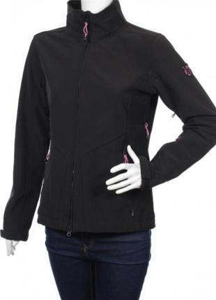 Флисовая женская софтшел куртка tcm tchibo