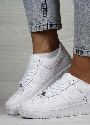 Nike air force 1 low 🔺женские кроссовки найк белые 🔺36-412 фото