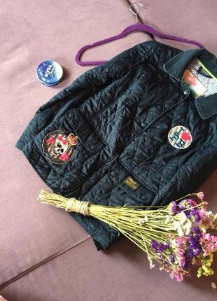 Клевая куртка , стеганка pauls boutique в идеале с бирочкой