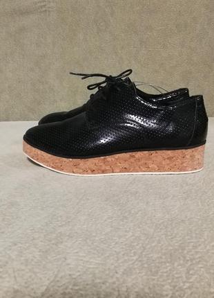 Кожаные туфли zign,испания