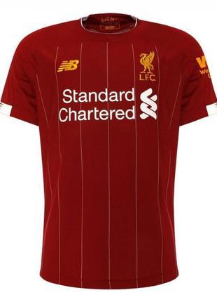Футбольная форма ливерпуль 2019-2020 домашняя, красная
