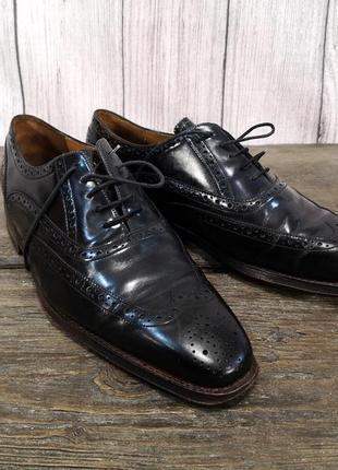 Туфли кожаные van bommel, стильные