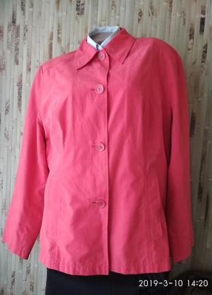Плащ ветровка куртка пиджак большой размер