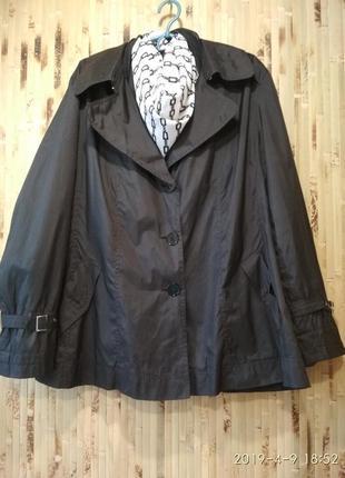 Ветровка куртка  плащ тренч большой размер