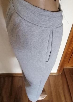 Тёплые спорт брюки на флисе