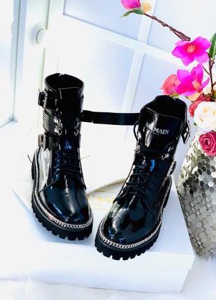 Ботинки кожаные осенние демисезонные премиум новая коллекция балман
