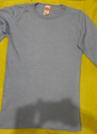 Футболк длинный рукав белье пижама трикотажка кофта размер с
