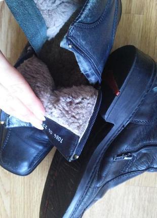 Брендовые зимние мужские ботинки