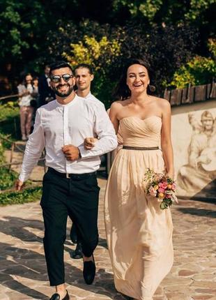 Платье вечернее, для подружки невесты, на выпускной, размер s