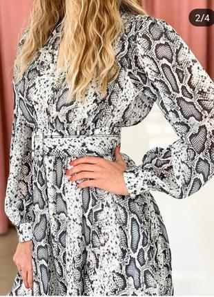Продам новое платье! модный принт!